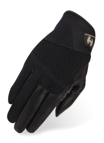Heritage Tackified Polo Gloves, Size 8, Black