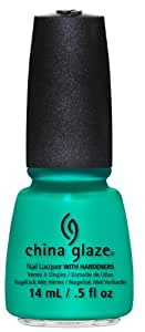China Glaze Esmalte de uñas con endurecedores - Efecto lacado - Keepin él trullo, 1er Pack (1 x 14 ml)