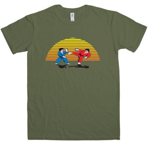 Mens Interantional Karate Sunset T Shirt
