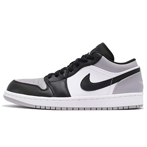 Nike Men's Jordan 1 Black Grey Grey White Atmosphere White Air black Atmosphere Low r5rxqwTg