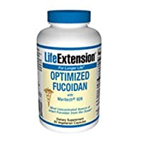 Optimized Fucoidan, 60 vcaps by Life Extension (Pack of 3)
