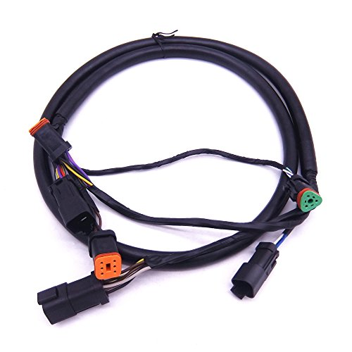 SouthMarine 0176333 176333 Extension Harness Cable Assembly for Evinrude Johnson OMC Outboard Motor Remote Control Box 5006180, 5ft(1.5m)