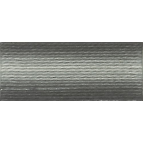 otton Thread Balls, Variegated Steel Grey, Size 8 ()