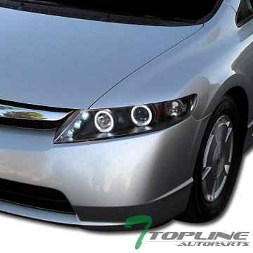 Civic 4d Projector Headlights - 3