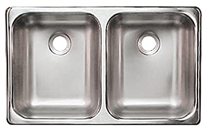amazon com heng s ssd 2515 5 22 stainless steel double sink automotive