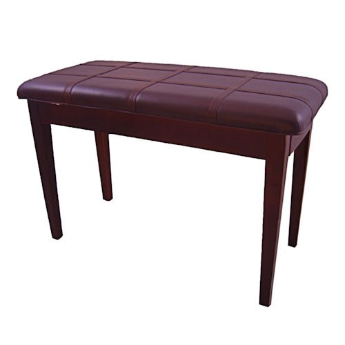 Cameron & Sons CS-10 MAHP-PD Mahogany Piano Bench Padded wit