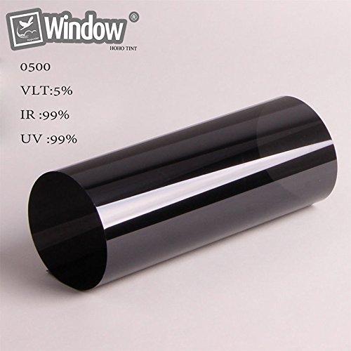 Auto Car Window Film 0% /5% / 15% / 35% /50% VLT Nano Ceramic Tint Anti-UV Home Window Solar Tint (1.52x0.5M, 5%)
