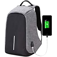 Cool Monkey Anti Theft Backpack Waterproof Business Laptop Bag with USB Charging Port for 14 Inch Laptop, Notebook, Camera and Mobile