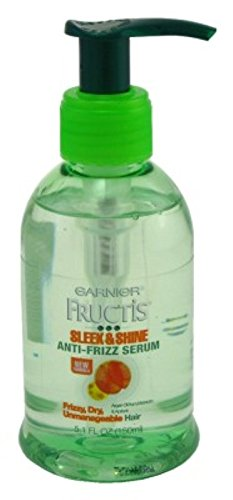 Garnier Fructis Serum Anti-Frizz Sleek & Shine 5.1 Ounce (150ml) (6 Pack)