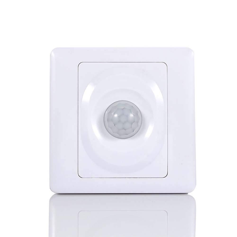 Lispeed PIR Interrupteur d/étecteur de Mouvement Automatique avec d/étecteur de Mouvement Capteur de lumi/ère du Jour avec d/étecteur de Mouvement Infrarouge et d/étecteur de Mouvement Infrarouge