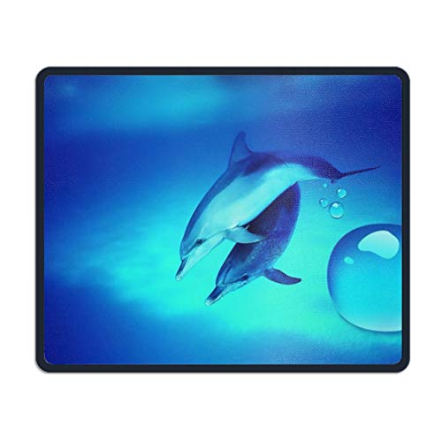 Dolphinbackground Mouse pad - Portable Cloth Gaming Mouse Mat -Game on The Go