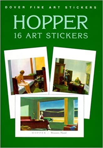 16 Art Stickers Hopper