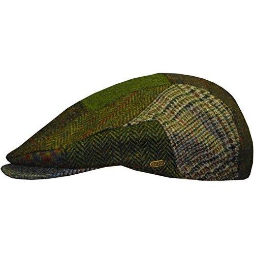 Men's Irish Flat Cap, Patch Cap Style, Woven In Ireland, 100% Irish Wool Cap, Medium