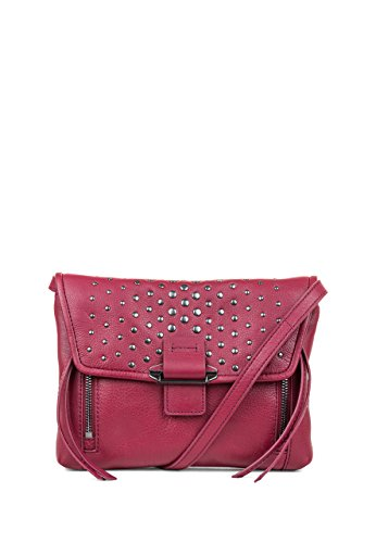 Raspberry Gunmetal With Studded Handbags Convertible Kooba Crossbody Mini Reed Studded x8aYTWSwUq