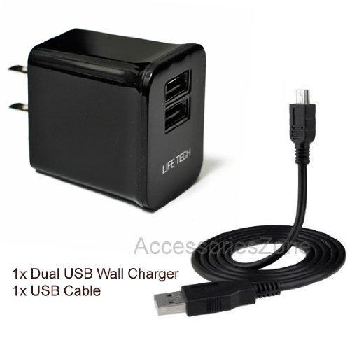 For Ematic EGQ780-SL 7.85-Inch Tablet Life-Tech Dual USB Por