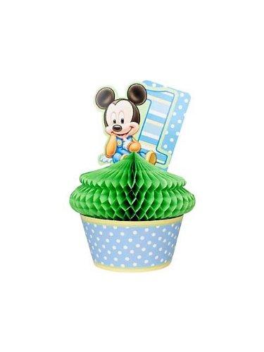 Hallmark Disney Mickey's 1st Birthday Centerpiece ()