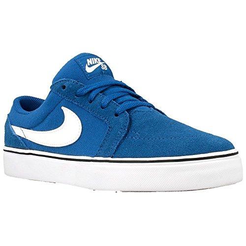 Nike Satire II (GS), Zapatillas de Skateboarding Para Niños Azul / Blanco / Negro (Brigade Blue / White-Black)