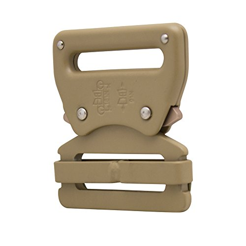 "Raptor I Tactical Military Police Aluminium Quick Release 1.75"" Gürtelschnalle Coyote Brown"