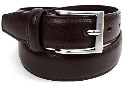 Boy's Genuine Leather Dress Belt for Toddler/Little Boy/Big Boy (Brown, Small 25-29 in. Waist)