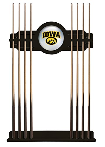 Iowa Cue Rack in Black Finish by Holland Bar Stool Co.