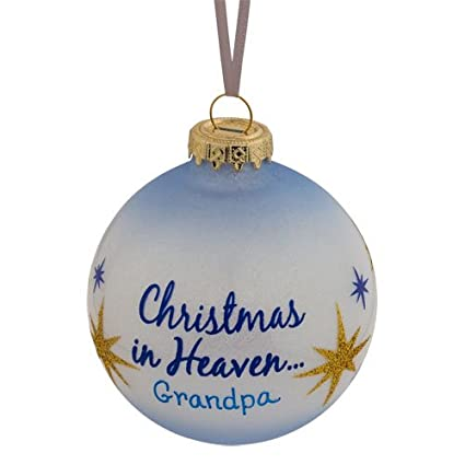 silverlight urns christmas in heaven glass memorial decoration grandpa blue and gold star tree - How To Decorate Urns For Christmas