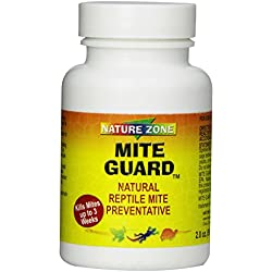 Nature Zone SNZ59311 Reptile Mite Guard Powder, 2-Ounce