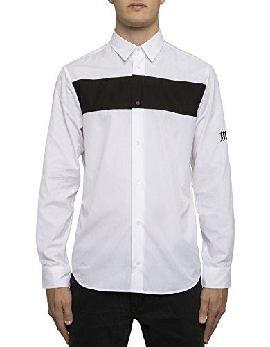 McQ Alexander McQueen Men's 450199Rjp259000 White Cotton Shirt