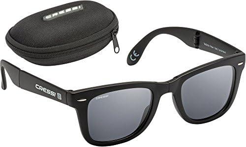Amazon.com : Cressi Taska Folding Polarized Sunglasses ...