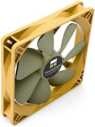 22, /16/ /22/dBA 1300/RPM Thermalright TY 141/Sq 140/mm PWM Fan Double Ball Bearing 300/