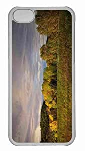 Customized iphone 5C PC Transparent Case - Wild Field 3 Personalized Cover