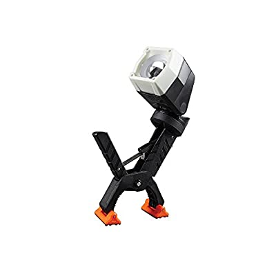 Work Light, LED Clamp Light Rotates 360 Degrees, Pivots 90 Degrees, Dust and Water Resistant Klein Tools 56029