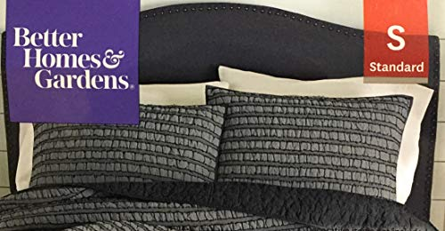better home and garden Gray Jacquard King Sham 100% Cotton from Better Homes and Garden