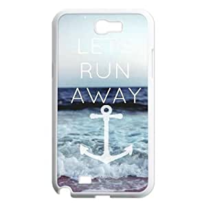Lets Run Away Popular Case for Samsung Galaxy Note 2 N7100, Hot Sale Lets Run Away Case