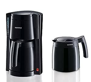 SEVERIN KA 9234 Cafetera para filtros de Café Molido, 8 tazas ...
