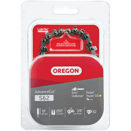 Oregon S62 18 Inch Semi Chisel Chain Saw Chain Fits Craftsman Homelite Poulan