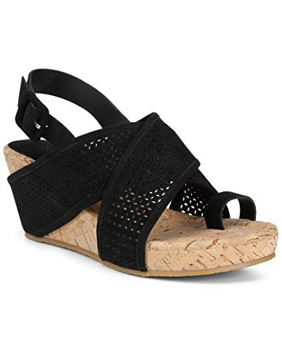 Donald J Pliner Ankle Strap Wedges - 3