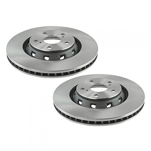 Front Disc Brake Rotor Driver & Passenger Side LH RH Pair Set of 2 for Venza