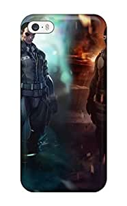 Durable Case For The Iphone 5/5s- Eco-friendly Retail Packaging(ghost In The Shell)