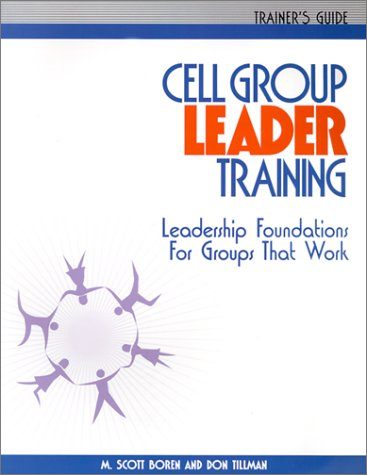 Download Cell Group Leader Training - Trainer's Guide pdf epub