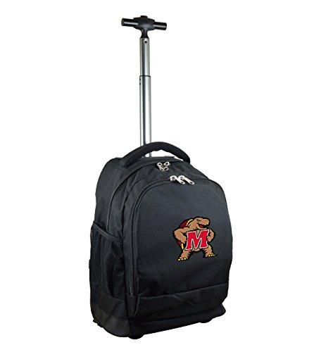 NCAA Maryland Terrapins Expedition Wheeled Backpack, 19-inches, - Team Terrapins Maryland Backpack