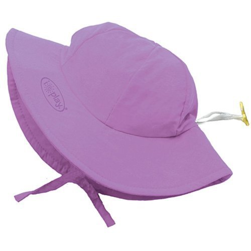 i play. Baby Unisex Solid Brim Sun Protection Hat UPF 50+ by i play.