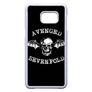 Samsung Galaxy S6 Edge Plus Cell Phone Case White Avenged Sevenfold Plastic Durable Cover Cases NYTY208141