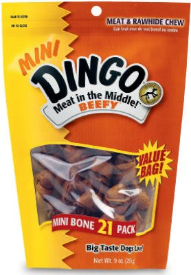 Dingo Meat In The Middle Dog Rawhide Chew Treat by United Pet Group
