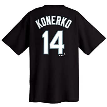 Paul Konerko Chicago White Sox Youth Name and Number T-Shirt (Small)