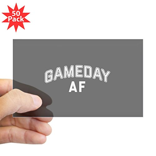 CafePress - Game Day AF - Sticker (Rectangle 50 pk) by CafePress