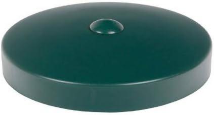 10 x h2i Runde Pfostenkappen Zaunkappen Abdeckkappen verzinkt Rund Gr/ö/ße /Ø 101 mm /Ø 101 mm///Ø 121 mm