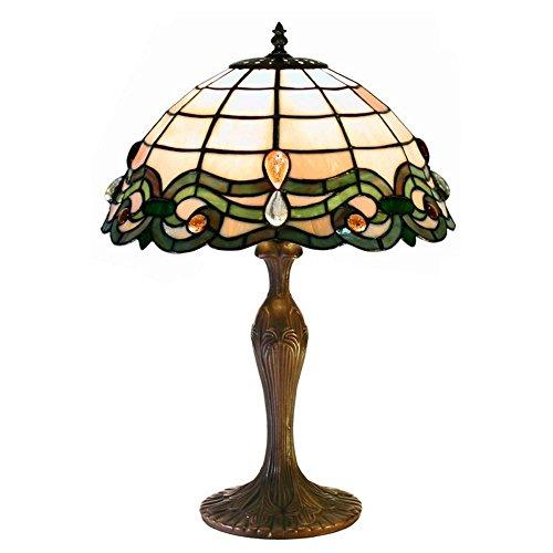 Warehouse Of Tiffany Semi-Baroque Table Lamp
