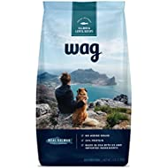 Amazon Brand - Wag Dry Dog Food Trial-Size Bag, No Added Grain, Salmon & Lentil Recipe