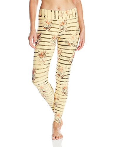 Tights Sublimated (Hot Chillys Women's Chamois Sublimated Tights, Tiger Stripe, Small)