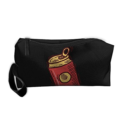 Portable Make-up Receive Bag Beer Travel&home Storage Bag Zipper Organization Space Saver Canvas Buggy Pouch]()